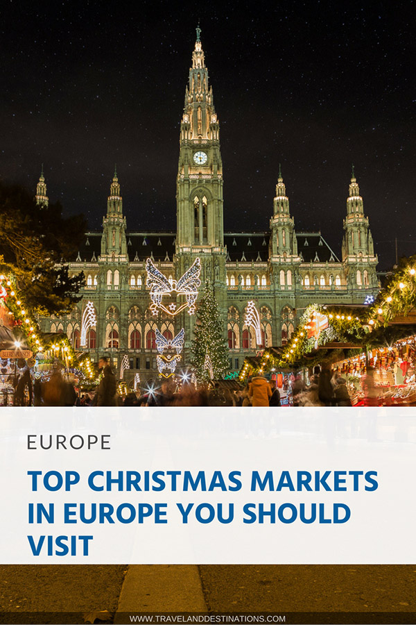Pinterest - Top Christmas Markets in Europe you Should Visit