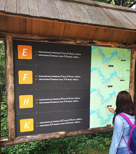 Plitvice Lakes Map