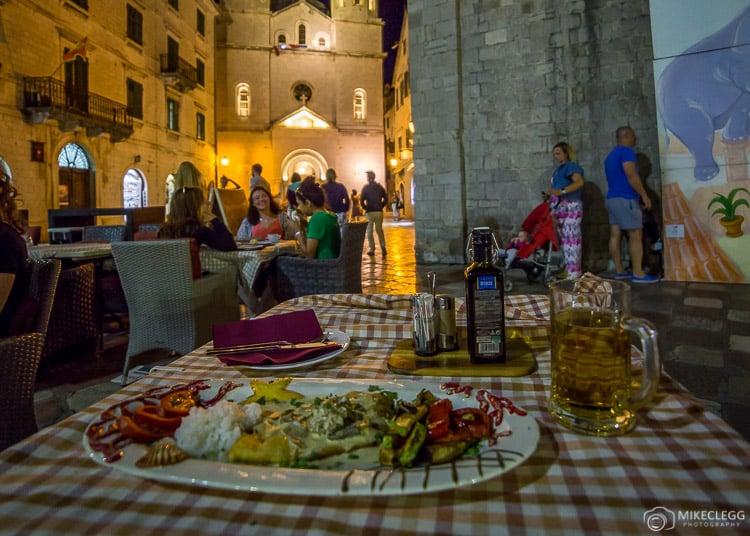 Restaurants in Kotor Old Town