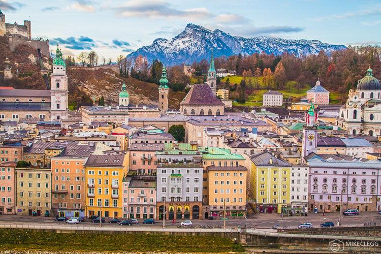 Salzburg Skyline, Austria