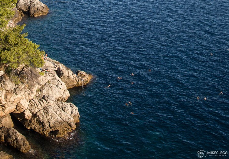 Swimmings along the Dalmation Coast, Dubrovnik