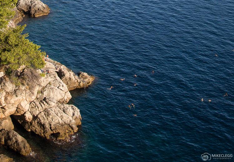 Swimmings along the Dalmation Coast, Dubrovnik