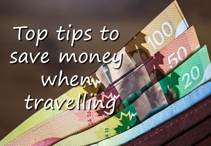Pin - Top tips to save money when travelling