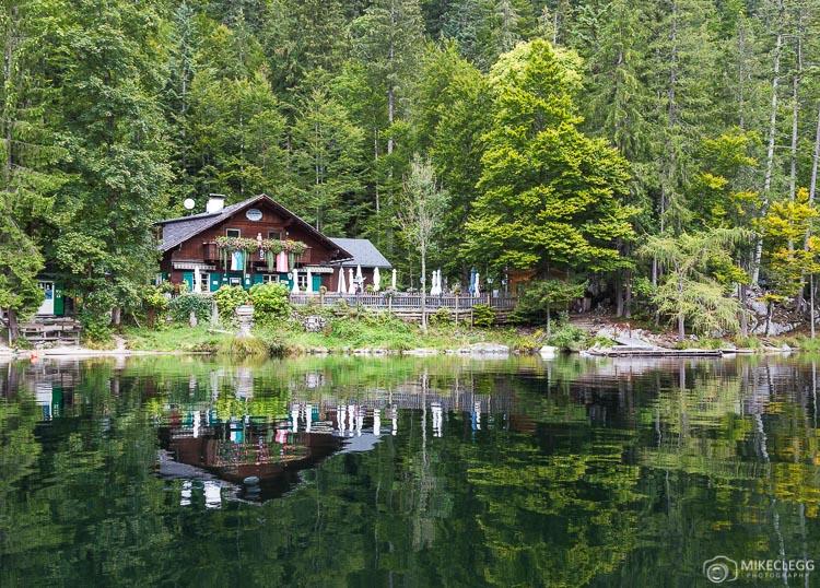 Toplitzsee Lake in Austria