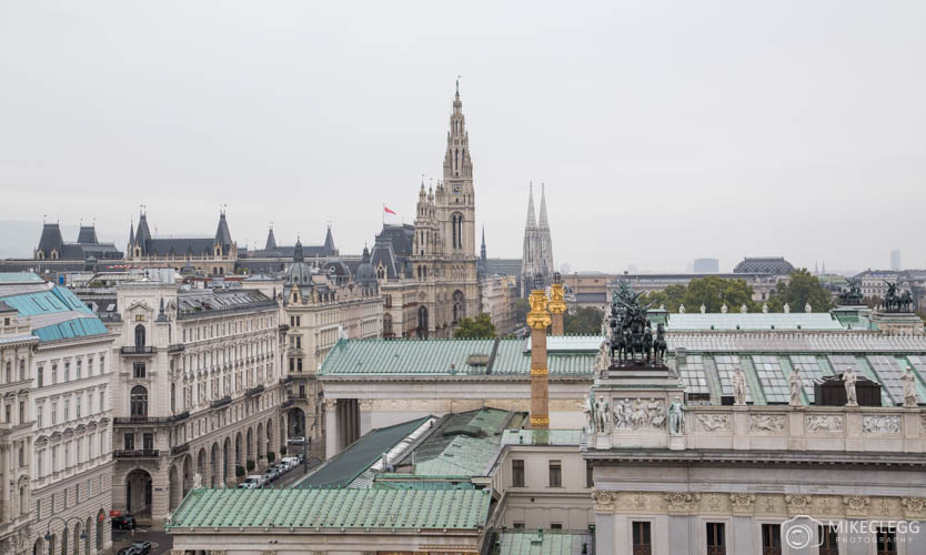 Views from the top of Justizpalast