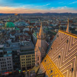 Vienna Skyline from Stephansdom