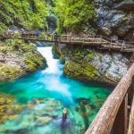 Vingar Gorge, Slovenia