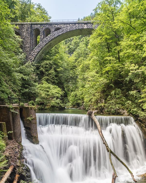 Waterfalls and Bridges, Vintgar Gorge