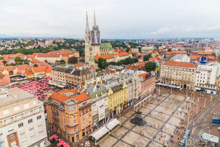 View from Zagreb 360