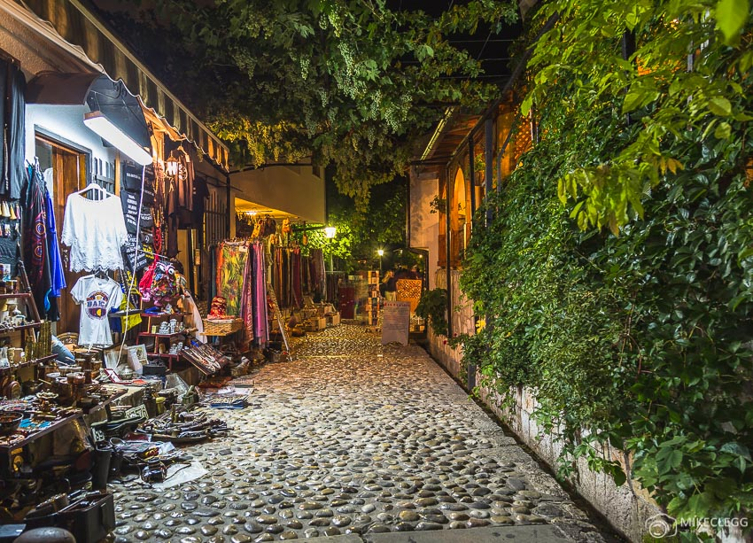 Cute streets in Mostar