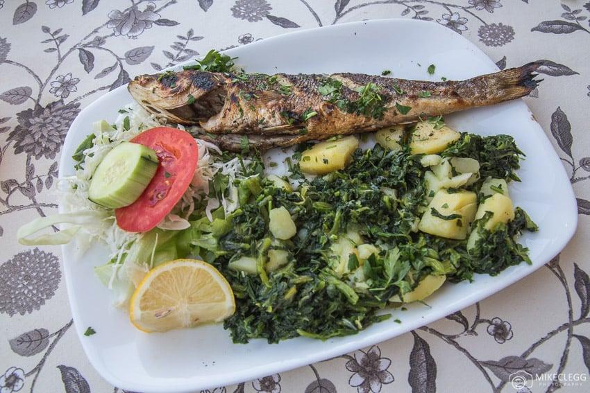 Delicious fresh food in Mostar