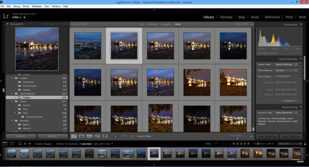 Lightroom - Library