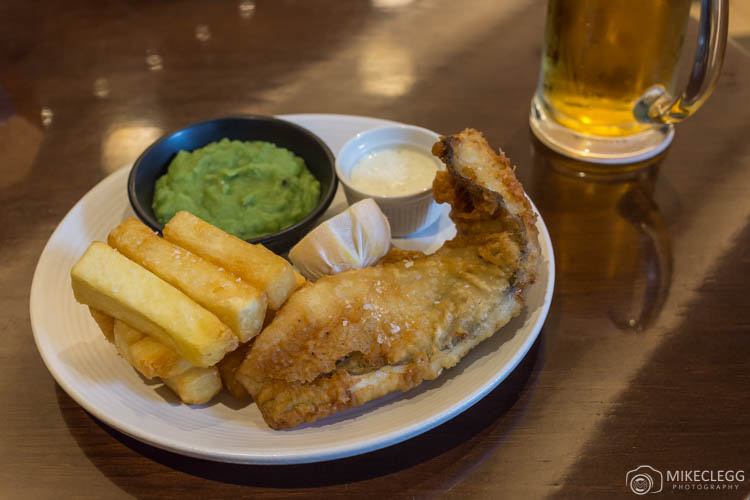 Fish and Chips at Smith and Whistle