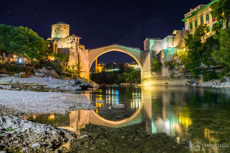 The stunning Stari Most Bridge in Mostar