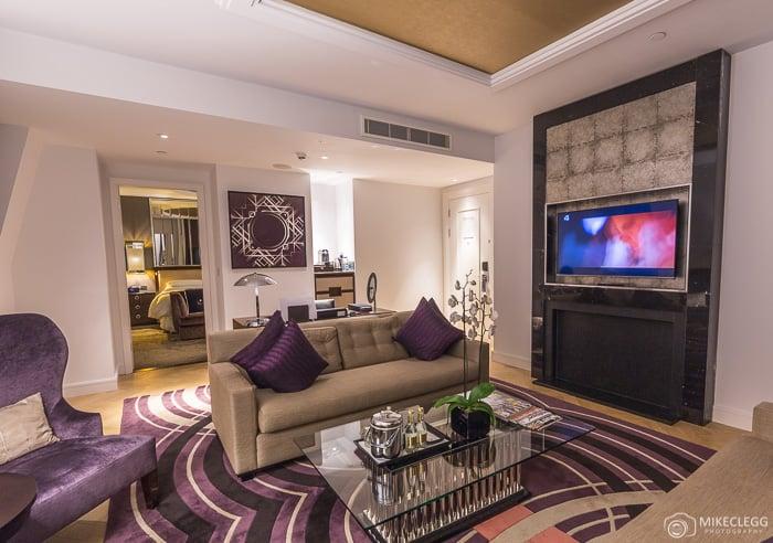 Park View Suite - Lounge, Sheraton, London