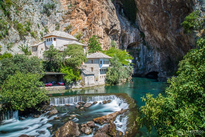 Waterfall at Blagaj