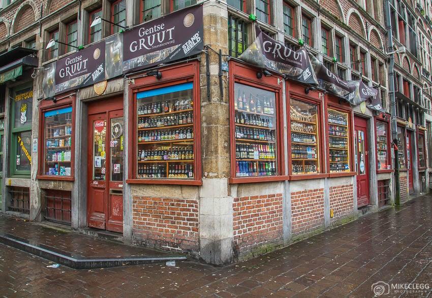 Beer shops in Belgium