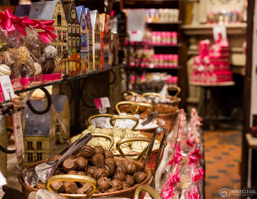 Belgium Chocolate shops