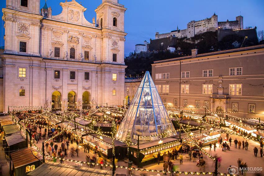 Christmas Markets at night