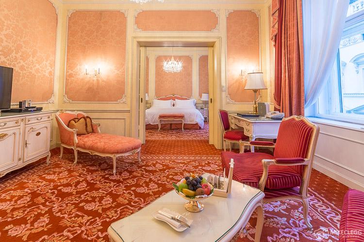 Elisabeth Suite, Hotel Imperial Vienna