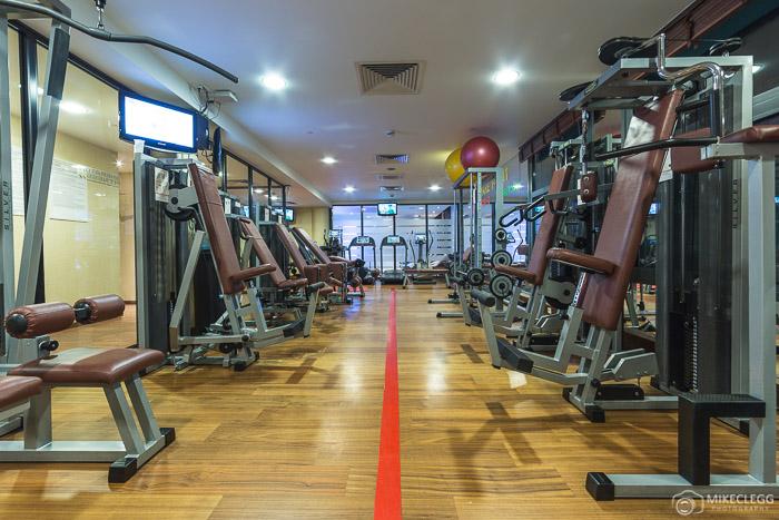 Gym at Sheraton