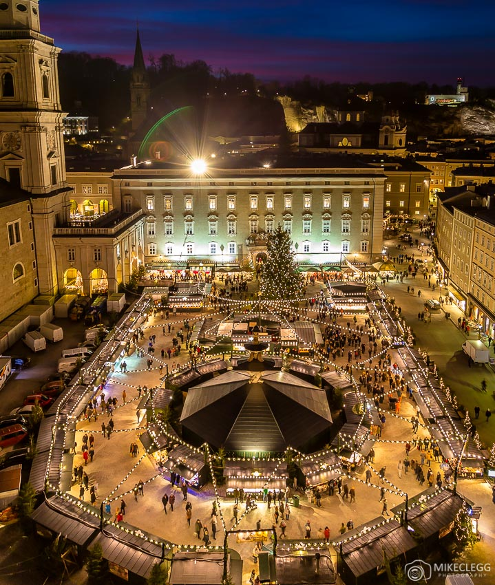 High views of Christmas Markets - Faster Exposure