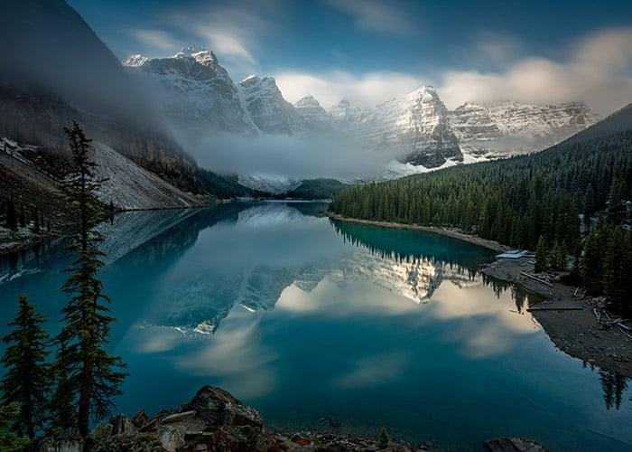 Moraine Lake in Banff