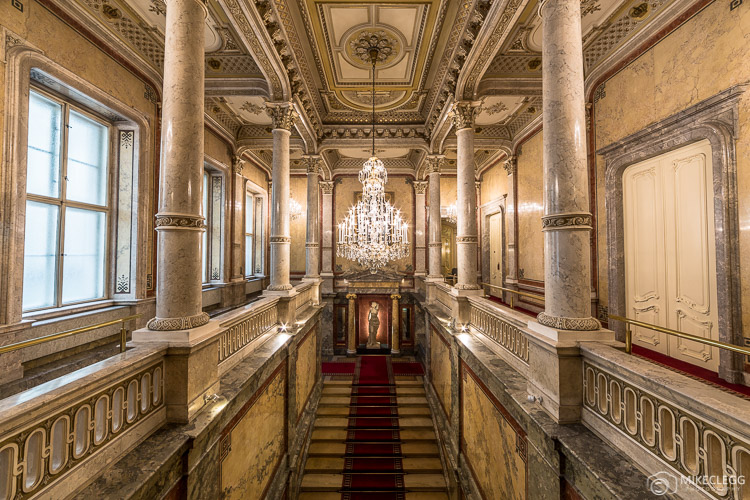 Royal Staircase, Hotel Imperial Vienna
