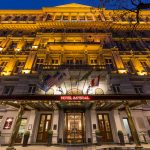 The Exterior of the Hotel Imperial Vienna