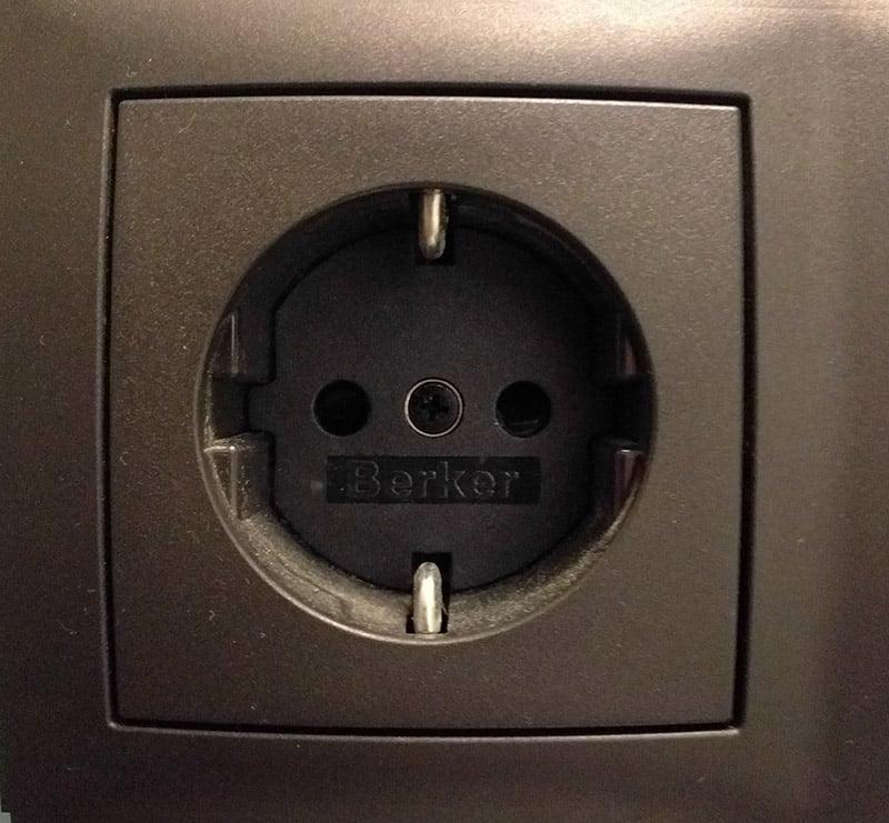 Europe Type F plug sockets