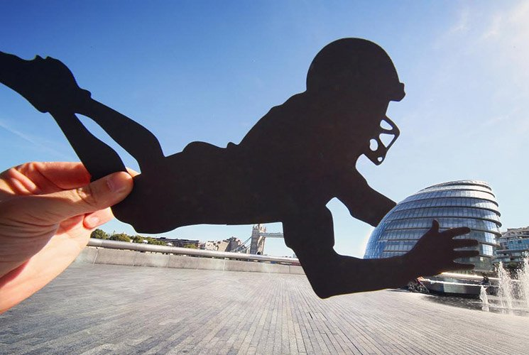 London City Hall NFL by @paperboyo Rich McCor