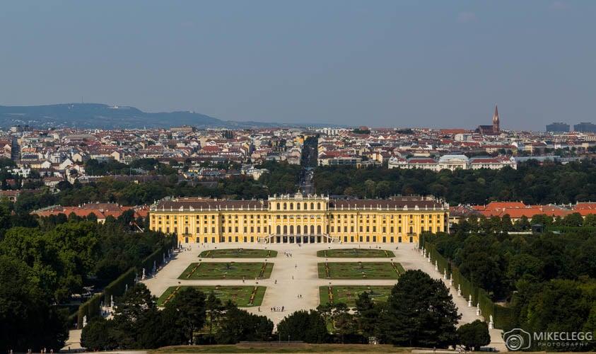 View from Schönbrunn Palace