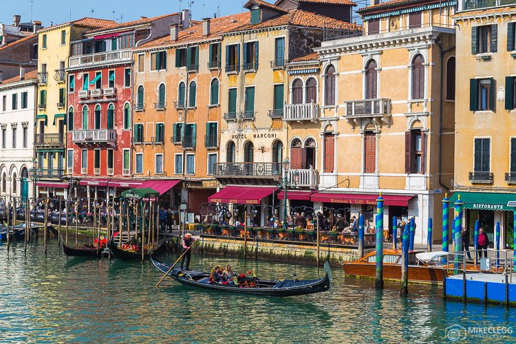 Scenes along the Grand Canal