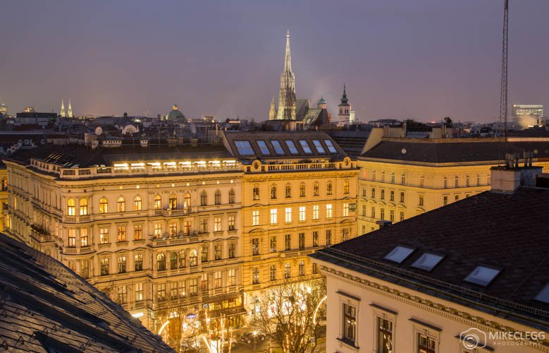 View of Vienna from the Ritz Carlton