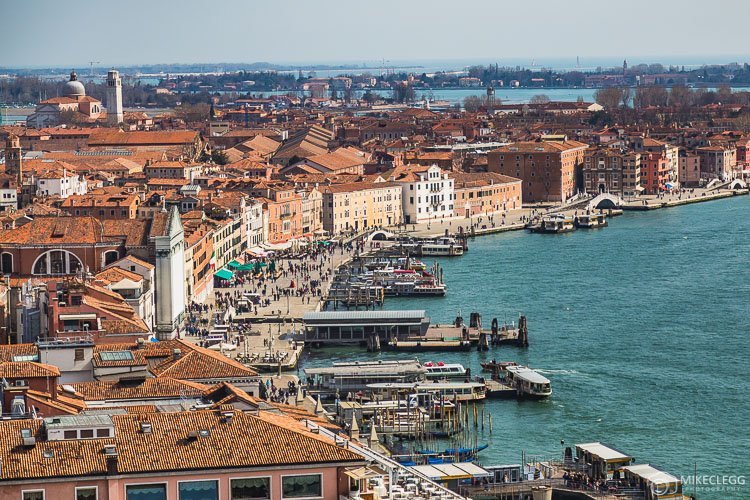 View of Venice from San Marco Campanile