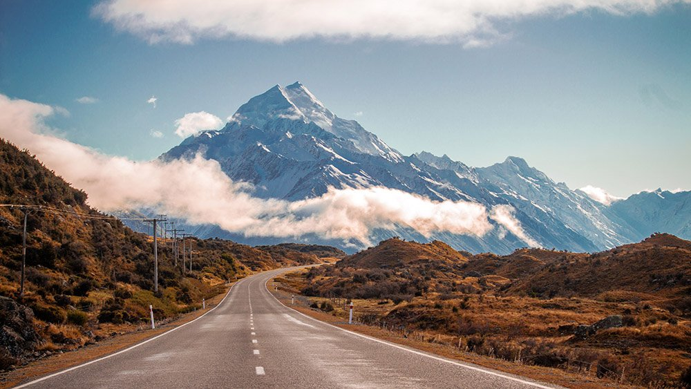 Best Scenic Drives In South Island New Zealand