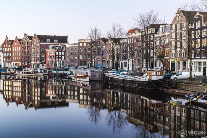 Architecture and reflections in Amsterdam
