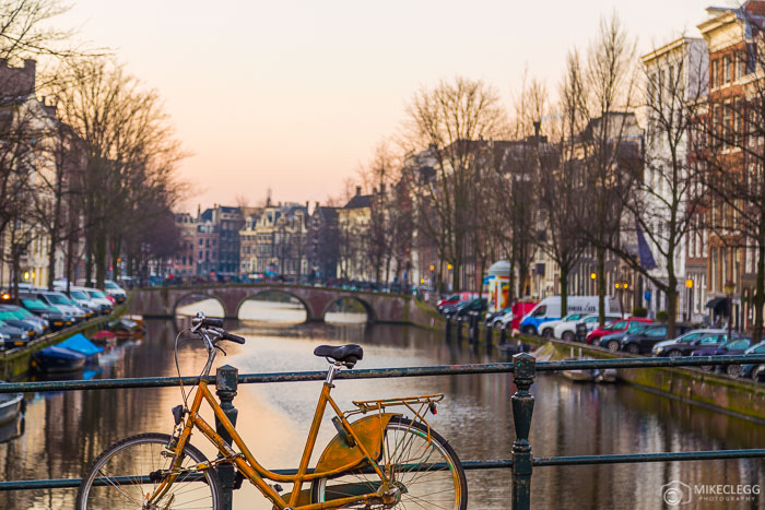 Beautiful Sunsets in Amsterdam