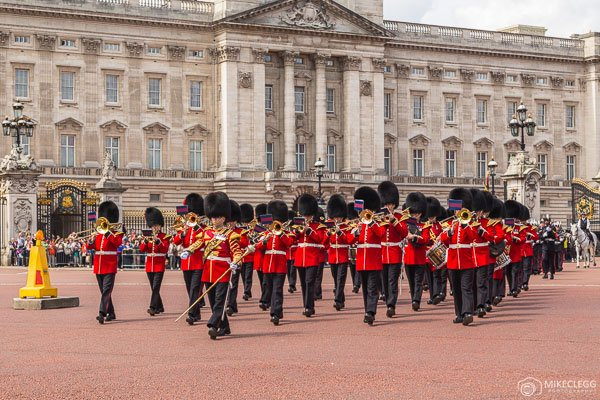 Changing of the Guard, Buckingham, Palace