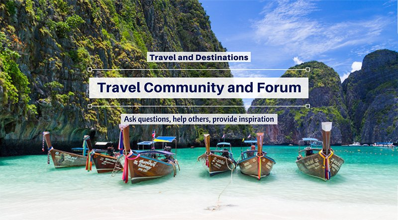 Facebook Travel Community Group and Forum