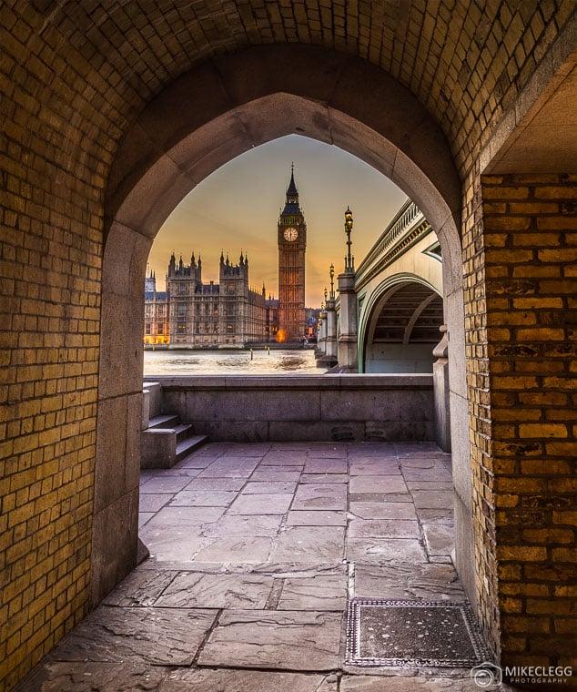 Framing of Big Ben