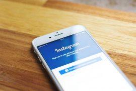 Instagram - smartphone