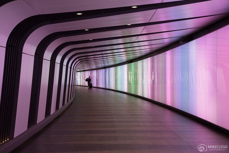 Kings Cross Light Tunnel