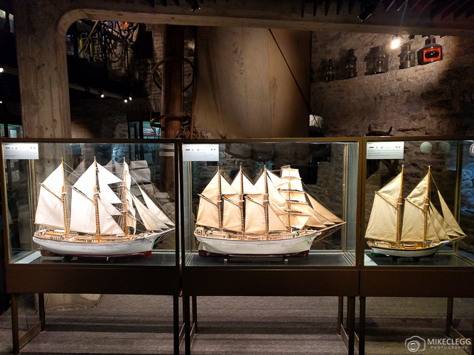 Model Ships at Estonian Maritime Museum