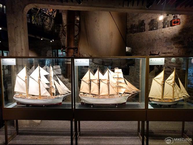 Model Ships at Estonian Maritime Museum