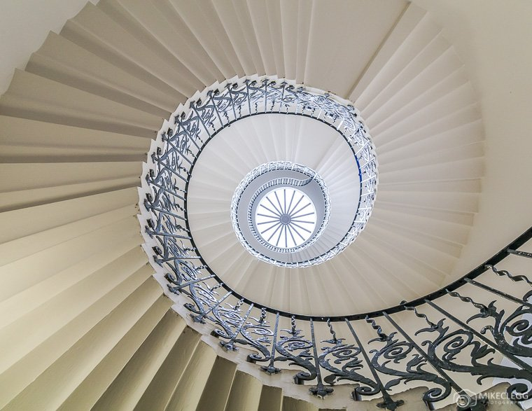 Queens House Staircase, London
