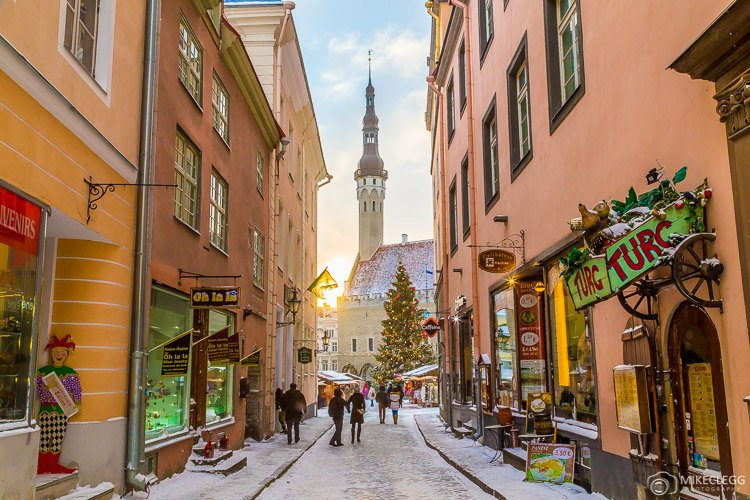 Raekoja plats and streets of Tallinn