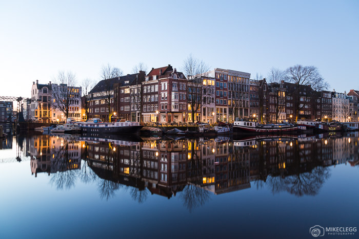 Reflections in Amsterdam