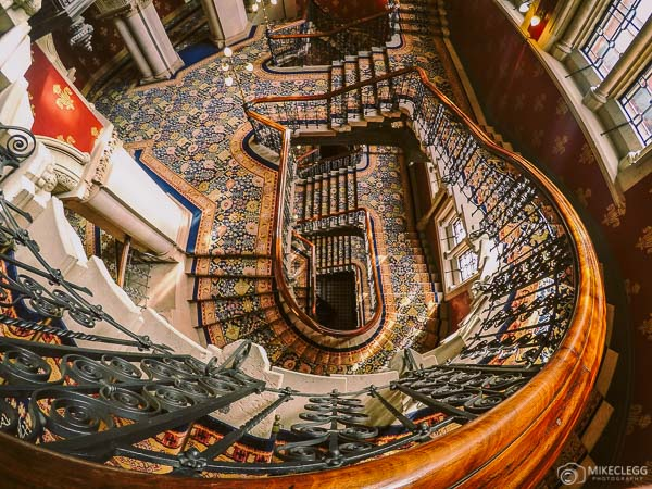 St. Pancras Renaissance Hotel - Grand Staircase