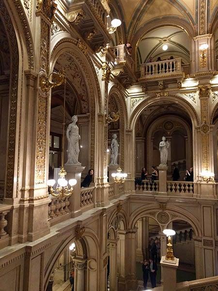 Staatsoper interior, Vienna